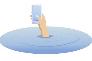 Auch beim Smartphone kann ein alphanumerisches Passwort verwendet werden